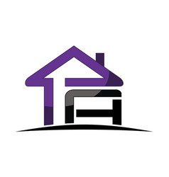 real estate solution letter pa vector image