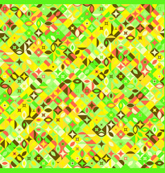 seamless abstract colorful geometrical mosaic vector image