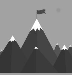 a mountain vector image
