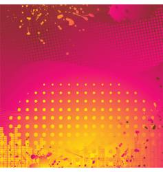 abstract pink and orange background vector image vector image