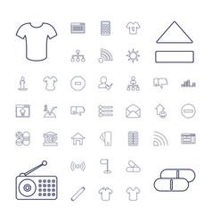 37 website icons vector
