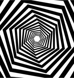 Abstract hexagonal optical vector