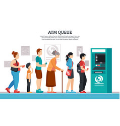 Atm queue vector