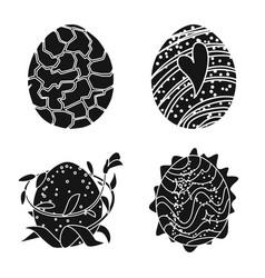 Design fantastic and cute symbol set vector