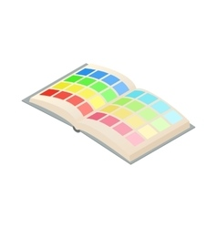 Directory palette color icon cartoon style vector