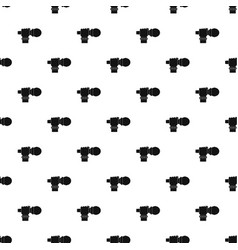 Hand microphone pattern vector