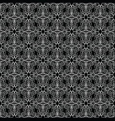 lace vintage seamless pattern vector image