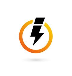 Letter i logo icon design template elements vector