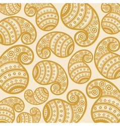 Pattern based on traditional Asian element Paisley vector image