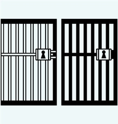 Prison jail vector image