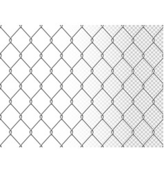 Realistic chain link seamless pattern vector