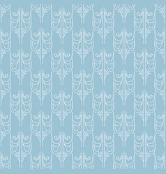 seamless abstract vintage light blue pattern vector image