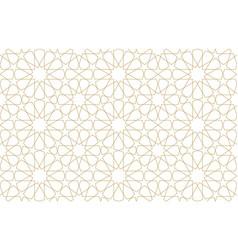 seamless original pattern in authentic arabian vector image