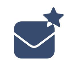 envelope icon envelope creating logo vector image vector image