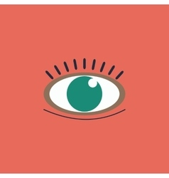 icon - Human eye vector image vector image