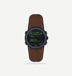 Sport watch icon vector image vector image