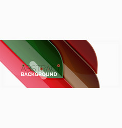 abstract color lines dynamic background modern vector image