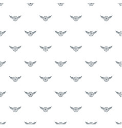 american dream pattern seamless vector image