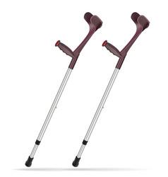 Elbow crutch metal telescopic crutch medicine vector