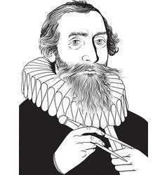 Johannes kepler vector