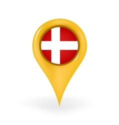 Location Denmark vector