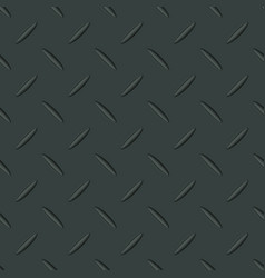 Metal texture seamless pattern with sample in vector