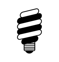 save bulb isolated icon vector image