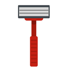 shaver razor icon isolated vector image