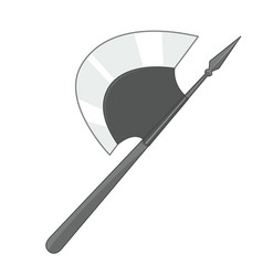 axe isolated vector image vector image
