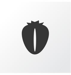berry icon symbol premium quality isolated vector image