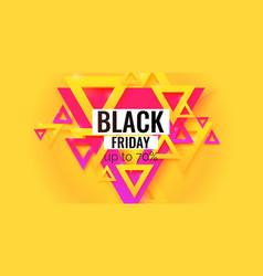 Black friday big sales trendy modern poster vector