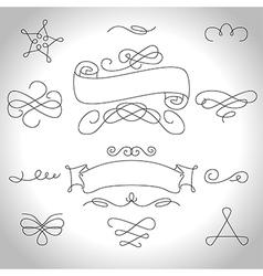 curls4 vector image