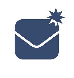 Envelope icon symbol vector
