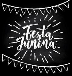 Festa junina - brazil june festival vector
