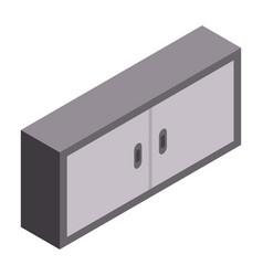 garage furniture icon isometric style vector image