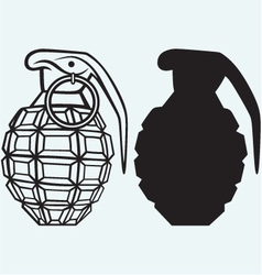 Image of an manual grenade vector image vector image
