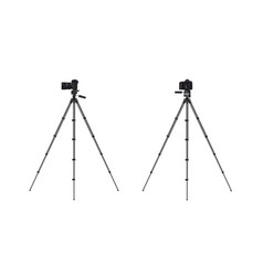 photo camera on tripod vector image vector image