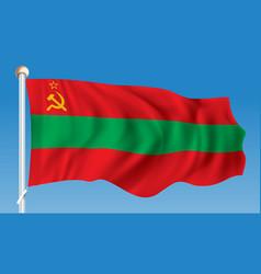 flag of transnistria vector image