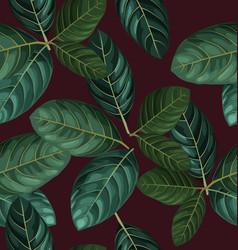 Foliage seamless pattern2 vector