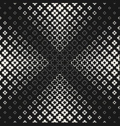 halftone texture monochrome seamless pattern vector image