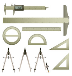Mathematics measurement instrument a set of vector