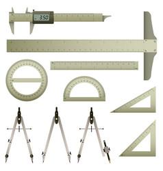 Mathematics measurement instrument a set vector