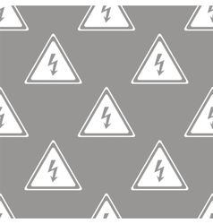 Voltage seamless pattern vector image