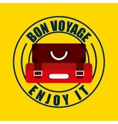 von voyage seal design vector image