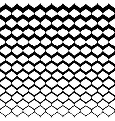 Halftone seamless pattern monochrome mesh texture vector