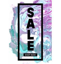 sale shop now black typographic banner template vector image