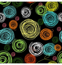 Abstract circles pattern vector