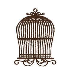 Birdcage icon image vector