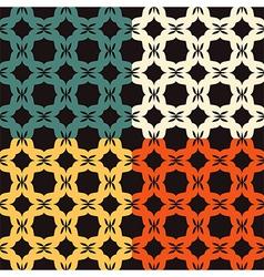 Bright pattern Bagel vector