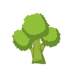 Broccoli healthy food organic food market icon vector